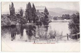 Australia Tasmania TAS, River Derwent Close To New Norfolk  C1910s Vintage Postcard S8889 - Australia