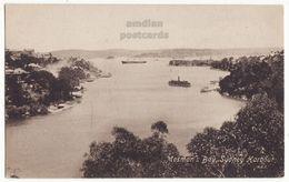 Australia Sydney NSW, Harbour Mosman's Bay New South Wales  C1910s Vintage Postcard S8891 - Sydney