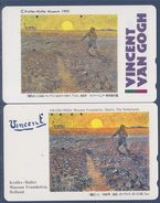 = V. Van Gogh, Le Semeur, Arles, été 1888, 2 Cartes Téléphone - Schilderijen