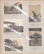 AVIATION Guerre 14 Défense De VERDUN - 5 Photos Sur Le Champion De Boxe Georges Carpentier Et Son Copilote Lt Thémasset - Guerre, Militaire