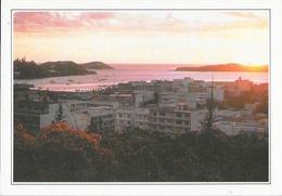 Fiche Neukaledonien (Nouvelle Calédonie) - Nouméa Bei Sonnenuntergang (coucher De Soleil) - Edito-Service S.A. - Géographie