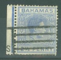 Bahamas: 1938/52   KGVI    SG153    2½d   Ultramarine  Used - Bahamas (...-1973)
