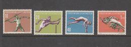 Yvert 304 / 307 ** Neuf Sans Charnière Sport Athlétisme - Liechtenstein
