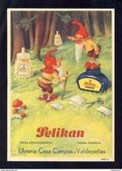 Buvard PELIKAN Num.1909 R. Encre, Gnomes (Ref. 99696) - Blotters