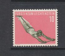 Yvert 315 ** Neuf Sans Charnière Sport Gymnastique - Liechtenstein
