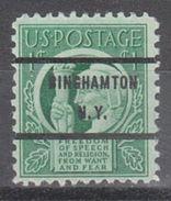 USA Precancel Vorausentwertungen Preo, Bureau New York, Binghamton 908-71 - United States
