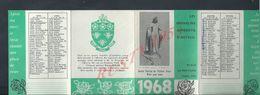 RELIGION CALENDRIER DE 1968 LES ORPHELINS APPRENTIS D AUTEUIL : - Calendars