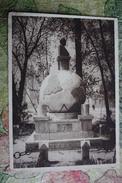 Kazakhstan. Taraz (Auliye-Ata). Lenin Monument (demolished). Rare Soviet Postcard 1920s - Kazakhstan