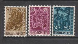 Yvert 356 / 358 * Neuf Avec Charnière - Liechtenstein
