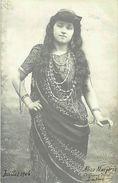 PIE 17. FRP  460 :  ALICE MARGERIE COSTUME DE LAKME JUILLET 1906. CARTE AUTOGRAPHE. - Künstler