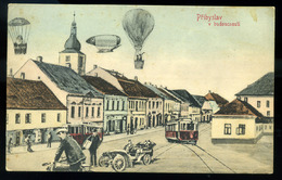 CZECHOSLOVAKIA   AUSTRIA 1907 Pribyslav In The Future Vintage Picture Postcard - Czech Republic