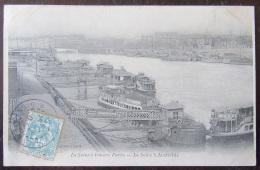 La Seine à Travers Paris - La Seine à Austerlitz - Timbre YT N°111 - Cachet 1904 - France