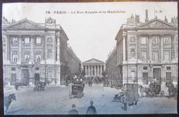 Paris N°79 - La Rue Royale Et La Madeleine - Très Animée - Timbre YT N°129 - Cachet 1906 - France