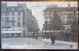 Paris N°159 - Le Faubourg Du Temple - Quai Valmy, Statue Place De La République - Animée - 1905 - France