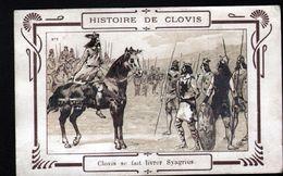 Histoire De Clovis, Clovis Se Fait Livrer Syagrius - Storia