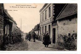 Pas De Calais : Mont Saint-Eloi : Le Bureau De Poste - France