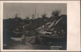 ! Cpa Fotokarte, Photo, Langemark, 1915, 1. Weltkrieg, Militaria, Westflandern, Belgien, MILITAIRE, Guerre - Langemark-Poelkapelle