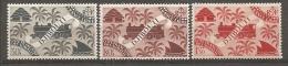 C  SOMALIS - Yv. N° 237,239,241  *  30c,80c,1f50  Série Londres Cote  1,8 Euro BE 2 Scans - Côte Française Des Somalis (1894-1967)