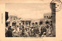 MAROC - MARCHE AUX CEREALES DE RABAT - Rabat