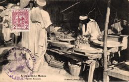 A TRAVERS LE MAROC - EPICIER MAROCAIN - Rabat