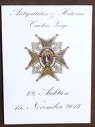Catalogo Asta - Antiquitaten & Historica Carsten 49 - 2014 Militaria Decorazioni - Livres & Logiciels
