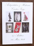 Catalogo Asta Antiquariato - Antiquitaten & Historica Carsten Auktion 47 - 2014 - Books & Software