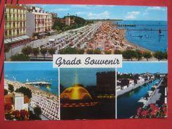 "Grado (Gorizia) - Mehrbildkarte ""Grado Souvenir"" / Nachporto, Nachgebühr, Nachtaxe ? - Andere Städte"