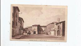 CEYRAS (HERAULT) PLACE DU CHATEAU (ATTELAGE CHEVAL ET AUTO GAREE) - France