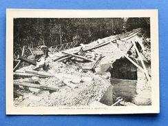 WWI - Stampa Fotografia D'epoca - La Ferrovia Distrutta A Requigny - Vieux Papiers