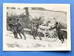 WWI - Stampa Fotografia D'epoca - Artiglieria Francese Da Campagna - Unclassified