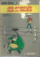 """LUCKY LUKE  """" DES BARBELES SUR LA PRAIRIE """" ( MORRIS / GOSCINNY. ) - DUPUIS - Lucky Luke"""