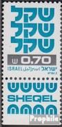 Israel 856y Mit Tab (kompl.Ausg.) Postfrisch 1981 Freimarke: Schekel - Israel