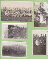 3e REGIMENT DE  ZOUAVES, Contantine : 1 Carte Photo + 8 Photos. Elèves Caporaux 1931, Infirmerie, Polygone, F. M - Reggimenti