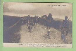 Expédition Balkanique : Vozarci, La Relève, Chameaux Capturés. 2 Scans. Edition Levasseur - Guerra 1914-18