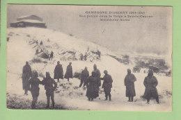 DEMIR KAPOU (Macédoine) : Nos Poilus Dans La Neige à Demir Capous. Campagne D'Orient. 2 Scans. Edition ? - Guerra 1914-18