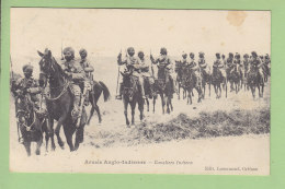 Armée Anglo Indienne, Cavaliers Indiens. 2 Scans. Edition Lenormand - Guerra 1914-18