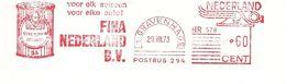 NL Front Firmacover Fina Nice Cut Meter, Voor Elk Seizoen, Voor Elke Auto Fina Nederland BV, 's-Gravenhage 29/8/1973 - Auto's