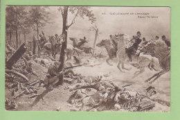 Sur La Route De LASSIGNY, Charge De Cavalerie. 2 Scans. Edition L'At D'Art Phot. - Guerra 1914-18