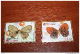 Butterflies  2006  Micronesia Rare Nominal 5$ And 10$ - Butterflies