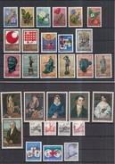 SPECIMEN 1971-1979 Complete Collection, Rare, Only 300 Sets Issued!!! - Geschnitten, Drukprobe Und Abarten