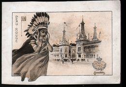 Le Chocolat Lombart à L'exposition Universelle De 1900, Peau Rouge - Lombart