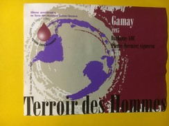 5866 - Gamay De Dardagny 1995 Terroir Des Hommes  30e Anniversaire De Terre Des Hommes Suisse-Genève - Sonstige