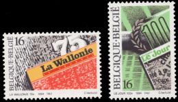 Belgium 2547/48**  Presse  MNH - Belgique