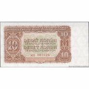 TWN - CZECHOSLOVAKIA 83b - 10 Korun 1953 Prefix MD UNC - Cecoslovacchia