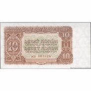 TWN - CZECHOSLOVAKIA 83b - 10 Korun 1953 Prefix MD UNC - Tchécoslovaquie