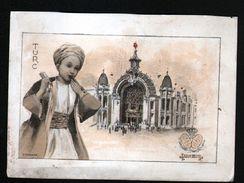 Le Chocolat Lombart à L'exposition Universelle De 1900, Turc - Lombart