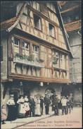 Ansichtskarte Foto Restaurant Zum Lohkäs Jean Baptiste Schickling Straßburg 1913 - Elsass