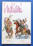 Gioco Vintage - Indiani - Figure In Cartoncino Da Ritagliare - Giocattoli Antichi