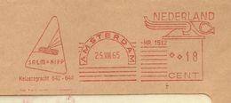 NL Front Firmacover Salm & Kipp Instrument, Nice Meter Salm=Kipp, Amsterdam 25/8/1965 - Fysica