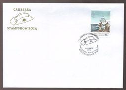 2014 Australia Canberra Stampshow Parliament House Centenary WW1 Commemorative Cover - FDC